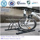 prateleiras prateleiras de duas bicicletas industrial bicicleta bicicletário pé