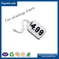 Self adhesive printed price sticker tags, Pre printed shelf supermarket plastic price label roll, Price labels for shelves