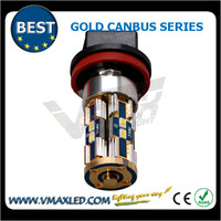New style H8 8*3623SMD 550lm gold error free white turn light led motorcycle bulbs