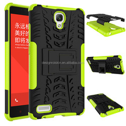 For Xiaomi brand dual layer cell phone case cover for redmi note