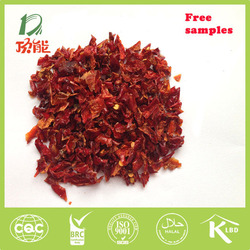 new crop free of pesticides dry red bell pepper