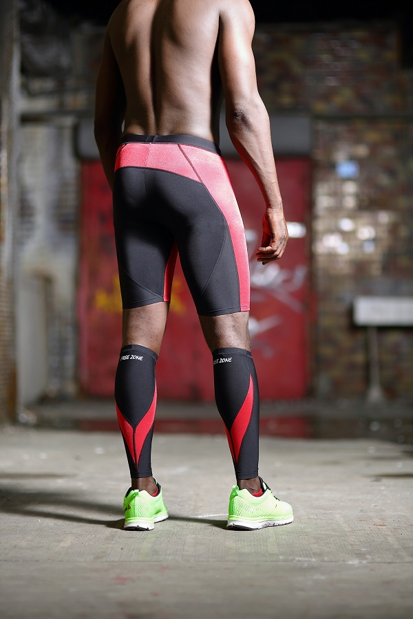 I can think of only one reason men wear a second layer when running: modesty. It's akin to wearing a t-shirt to go swimming. tights with compression shorts underneath creates a lycra-based.