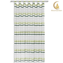 2014 stripe curtain design sheer horizontal stripe curtain for living room