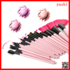 Alibaba wholesale soft pink 24pcs makeup brush kit