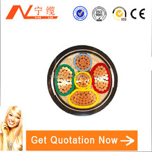 Heat resistant pvc jacket LV electric wire&cable