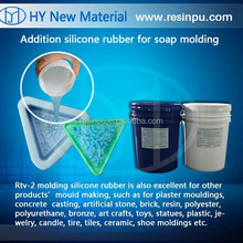 RTV-2 molding silicone rubber for soap mold making