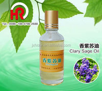 Chemicals oil 100% aromatherapy essential oil diffuser Clary Sage essential oil & Sweet-Almond base oil