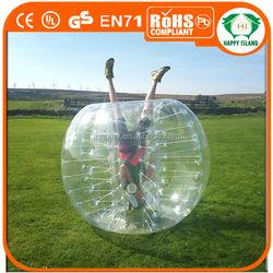 HI 2014 Top Quality Dia1.2/1.5m PVC loopy ball , bumper ball ,human bumper ball