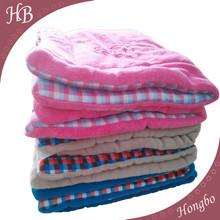 Warm Sleepy soft baby quilt