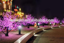 Led Cherry Blossom light tree, jardín decorativo árbol de luz