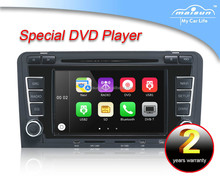 Car DVD Player Navigation System with CAN bus&Bluetooth for Audi A3