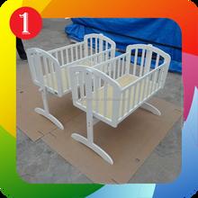 Nursery Baby Cradle Bassinet Wooden