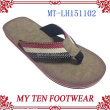 Customized Branded High Quality Man Slipper