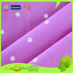 Fee fabric samples printing nylon spandex microfiber fabric