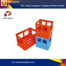 Plastic Fruit&Agricultural Crate Mould For plastic injection, Hot runner auto drop plastic fruit crate mould(OEM)