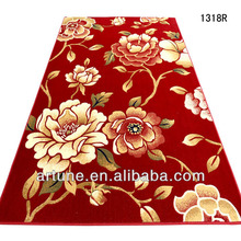 size of home hand made flower washable carpet