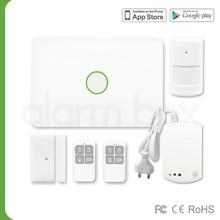 Wireless smart home security alarm,cctv camera system S1 for home/shop/buliding