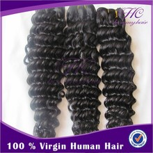 Hc Remy Hair indian virgin remy deep curly hair virgin hair indian
