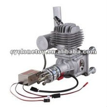 Upgraded EME55 Gasoline Engine/Petrol Engine EME55-II 55CC for Gas Airplanes Similar with DA60/ DLE55
