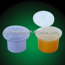 HOT!!! KL- colorful perfect shape Plastic Closures flip cap