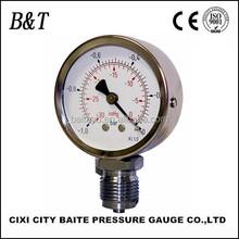 """2.5""""bottom mount -1-0bar gauge pressure"""