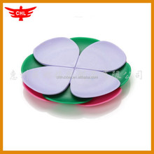 factory price custom design promotional silicone cup mat