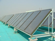 Solar Thermal hot water heating flat panel collector