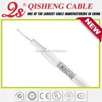 2015 new design hot selling TV cable RG59U RG6U rg11 quad shield
