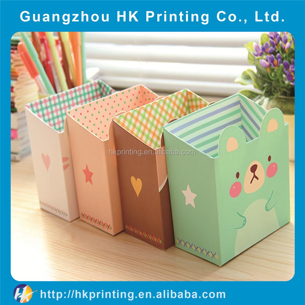 Decorative Boxes For Paper Storage : Wholesale decorative custom kids paper cardboard storage