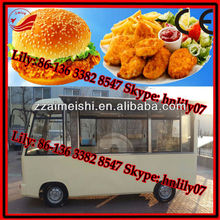 fried chips/chicken nuggets selling mobile trailer 0086-136 3382 8547