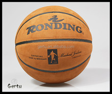 2016 size 7 custom pu basketball