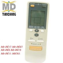 Good quality universal For AR-JW2 Air Conditioning remote control instead of AR-JW17 AR-JW27 AR-JW30 AR-JW31