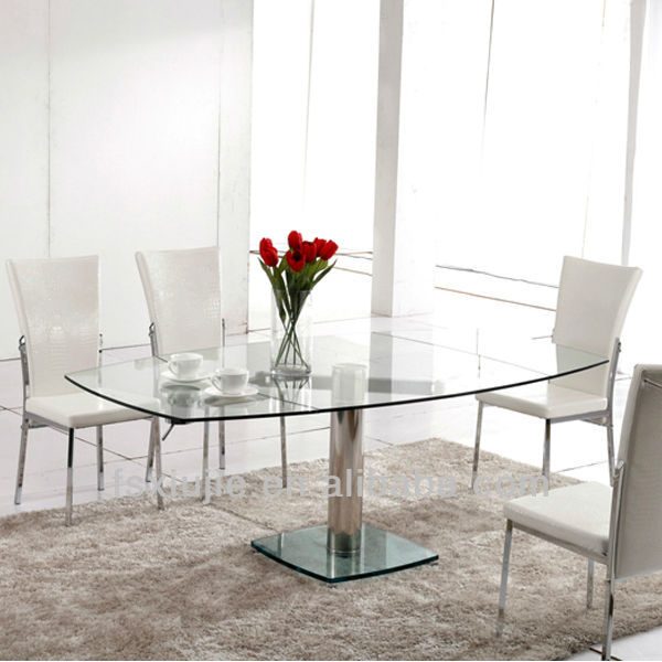 L865a new model steel dining table and chair stainless for New model dining table