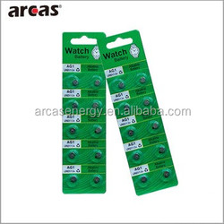 AG1 AG2 AG3 AG4 AG5 1.5V Alkaline Button Cell