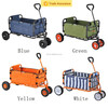 Colorful 4 wheel folding hand bag/New China wholesale folding beach wagon