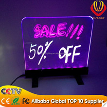 alibaba express hot new products for 2015 led writing board kids erasable drawing board