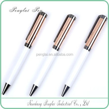promotional metal gold plated branded luxury modern & elegant design metal pen