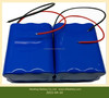 Battery pack 14.8V solar energy storage battery, rechargeable lithium ion batteries 20AH xenon lamp