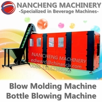 Small Plastic PET Bottle Blow Molding Machine