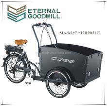 passenger three wheel bicyclecargo tricycle bike/cargobike/bakfiets UB9031E