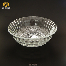 Rustic Lodge Style Decorative Clear Glass Bowl china suppliers