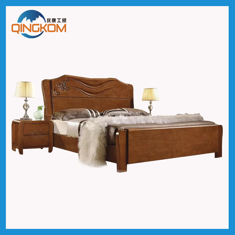 Strengthen wooden slats bed frame for sale buy for Bed frame with mattress for sale