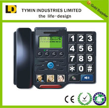cheap hearing aids phone electronics corded phone with telephone hook switch