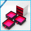 elegant paper cardboard drawer boxes packaging for gifts, sliding drawer gft boxes