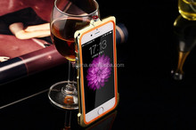 Unique design bling diamond perfume metal bumper for iphone 6 ,soft tpu shockproof bumper case for iphone 5 5s