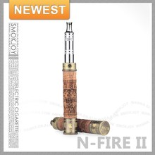 innovative products new product Hong Kong electronic cigarette starter kit NFire 2.0 wooden batteries