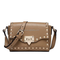 New style hot-sale grain real leather shoulder bag