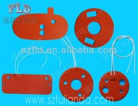 Round circle silicone heater