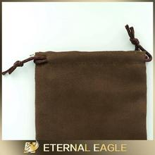 New Products suede single/double drawstring pouches jewelry pouches jewelry pouch