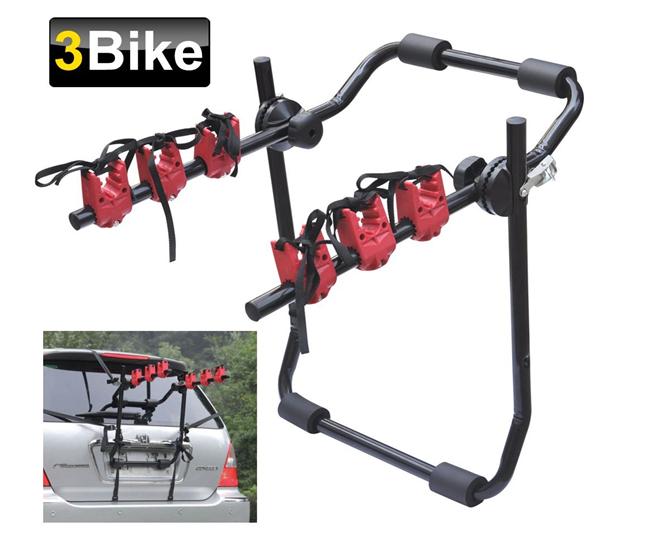 Universal Montado Na Traseira 3 Ciclo de Bicicleta Carro Rack De Suporte De Bicicletas